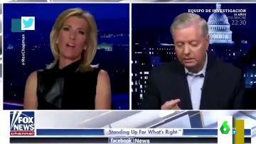 """La 'pillada' a un senador republicano """"sacándose un moco"""" cuando entraba en directo en la Fox"""