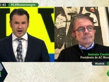 """Antonio Catalán: """"No sólo peligra Semana Santa, también el verano. Dependemos exclusivamente de las vacunas"""""""