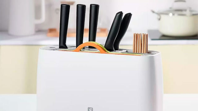El secador de cuchillos que vende Xiaomi
