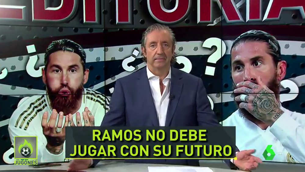 """Pedrerol: """"Seguir haciendo historia en el Real Madrid solo depende Ramos, la oferta ya la tiene"""""""