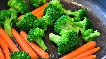 Verduras en la sartén