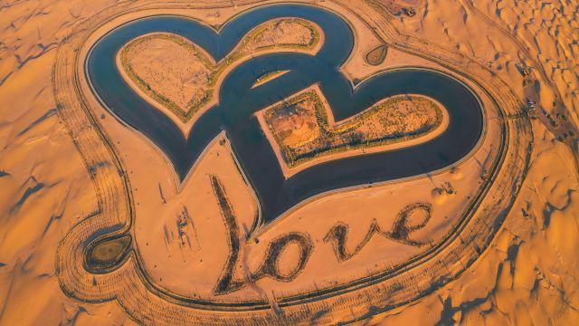Dubai Love Lakes