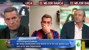 """El cabreo de Pedrerol ante el comportamiento de Paco Buyo en El Chiringuito: """"Me voy a ir a casa, yo no puedo con esto"""""""