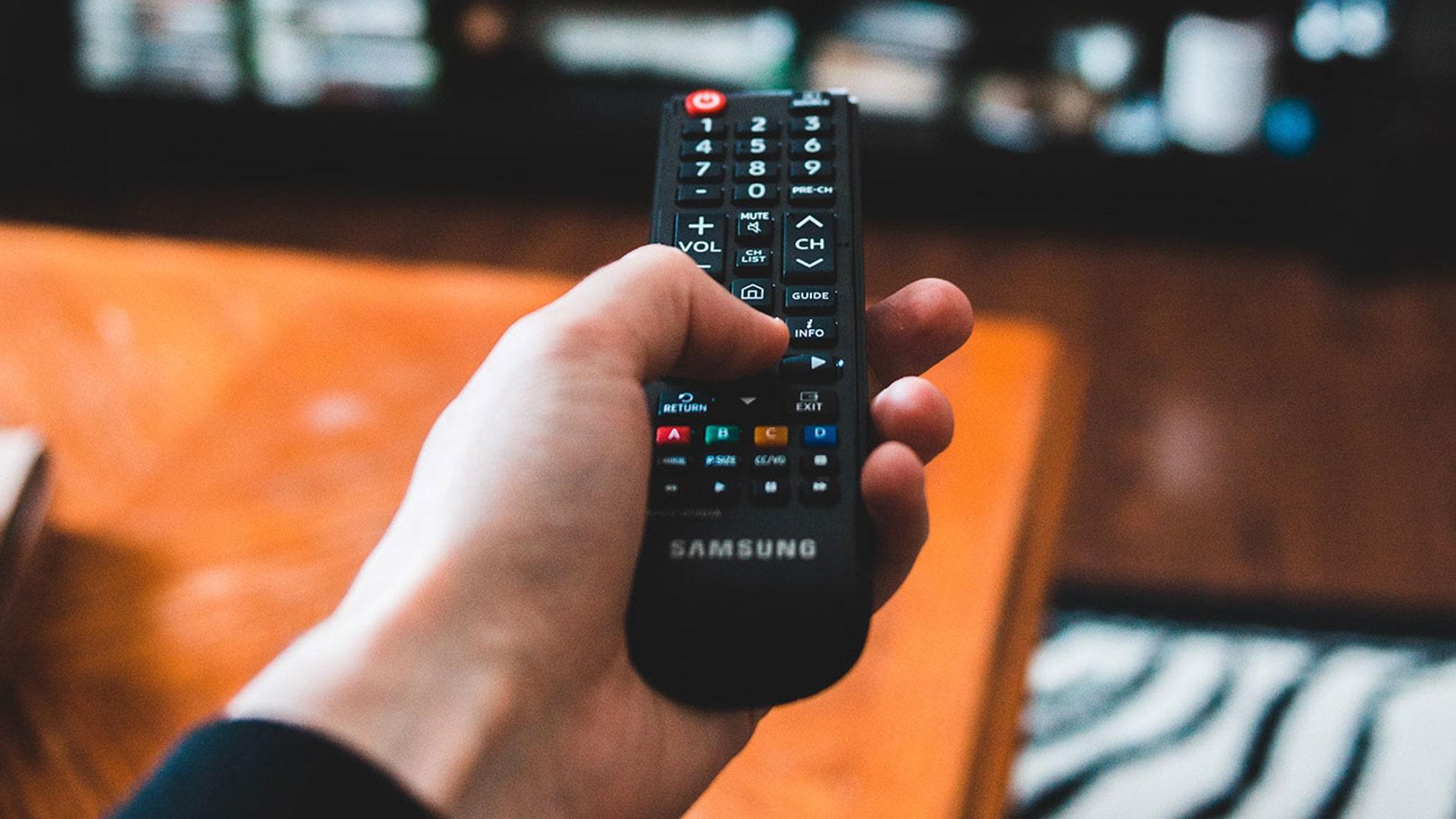 Mando del televisor