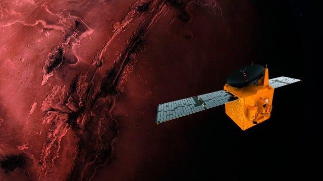 La sonda árabe Hope entra en órbita de Marte