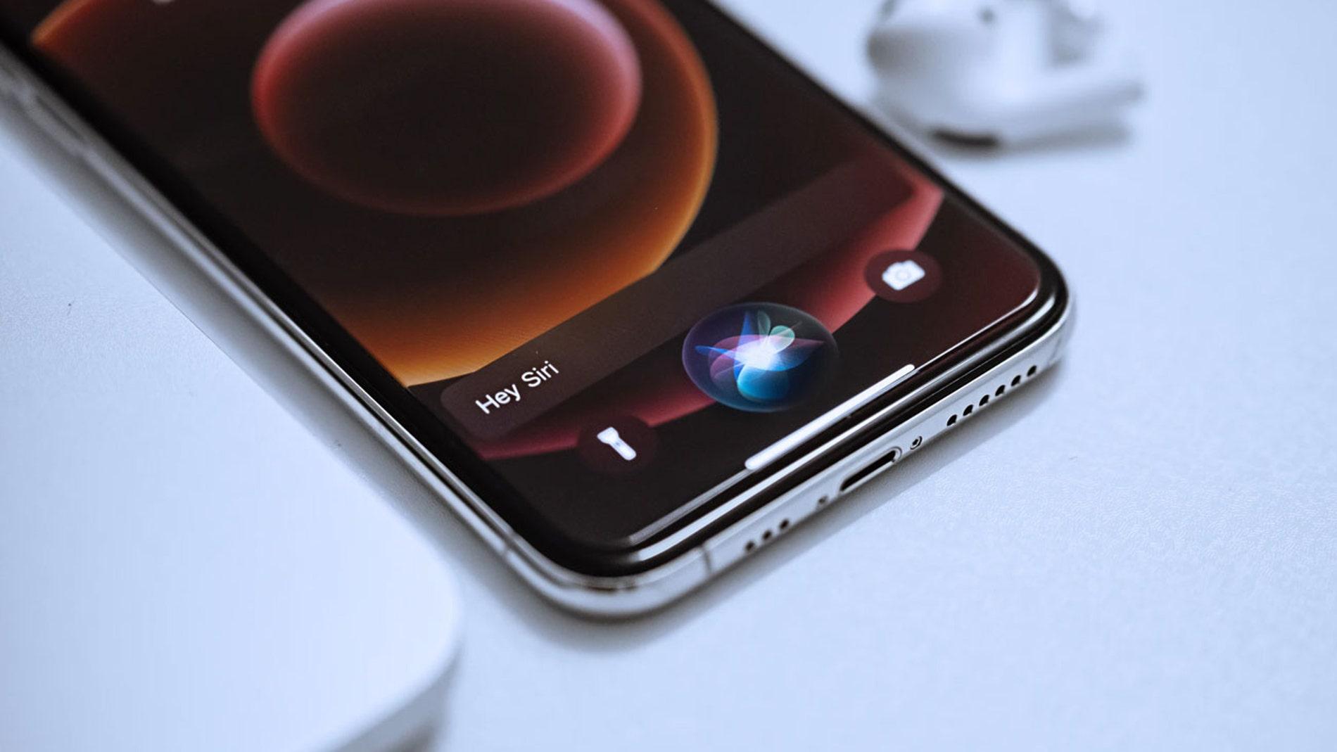Siri, el asistente de Apple.