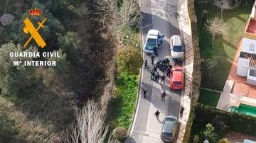 La Guardia Civil detiene a un hombre por apuñalar a una 29 en Albolote (Granada)