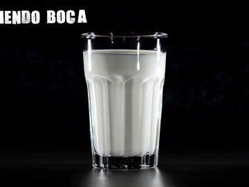 Imagen de un vaso de leche