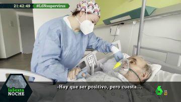 El emotivo reencuentro de Ana e Ignacio: así ayudó una enfermera a un paciente de COVID-19 a salir adelante