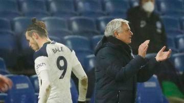 Bale y Mourinho