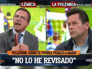 """Cristóbal Soria defiende al Betis ante Tomás Roncero: """"No metas al equipo de mi ciudad en tu guerra"""""""
