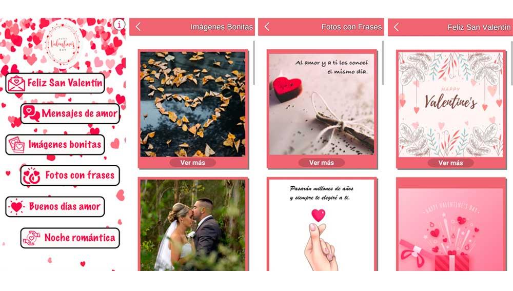 Crea tarjetas con imágenes y frases de amor