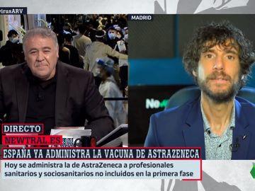 El periodista, Mario Viciosa, en Al Rojo Vivo