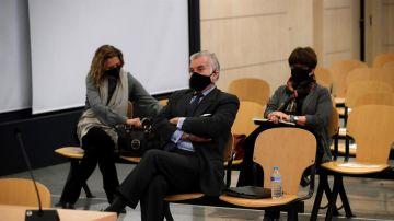 El extesorero del PP, Luis Bárcenas, en el juicio por la caja B