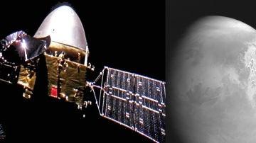 La nave china Tianwen 1 se prepara para entrar en la orbita de Marte