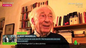 """Albert Boadella, sobre los obispos vacunados irregularmente: """"Me gustaría que no tuvieran ningún miedo de ir a la otra vida"""