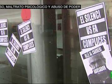 Protestas ante el IT tras las denuncias de abusos