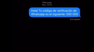 Así funciona la estafa del código de verificación que se ha extendido por Whatsapp