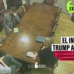 Imágenes exclusivas de Assange