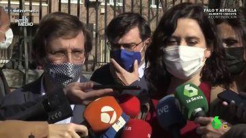 """Vídeo manipulado - Surrealista intervención de Ayuso sobre Almeida: """"Lo he encontrado yo, estaba mojado y temblando de frío"""""""