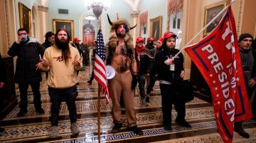 Los asaltantes del Capitolio, el 6 de enero.