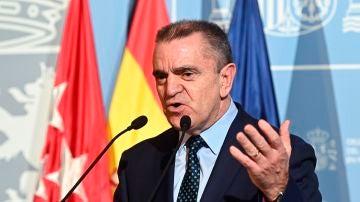 José Manuel Franco, el delegado del Gobierno en Madrid.