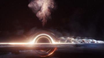 La destruccion de una estrella por un agujero negro dispara un neutrino cosmico