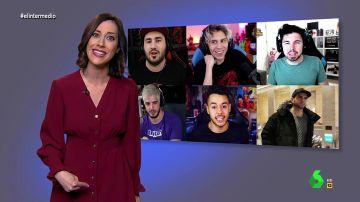 """El alegato de la 'superinformada' Cristina Gallego contra los impuestos: """"El Gobierno ha obligado a los pobres adolescentes youtubers a exiliarse en Andorra"""""""