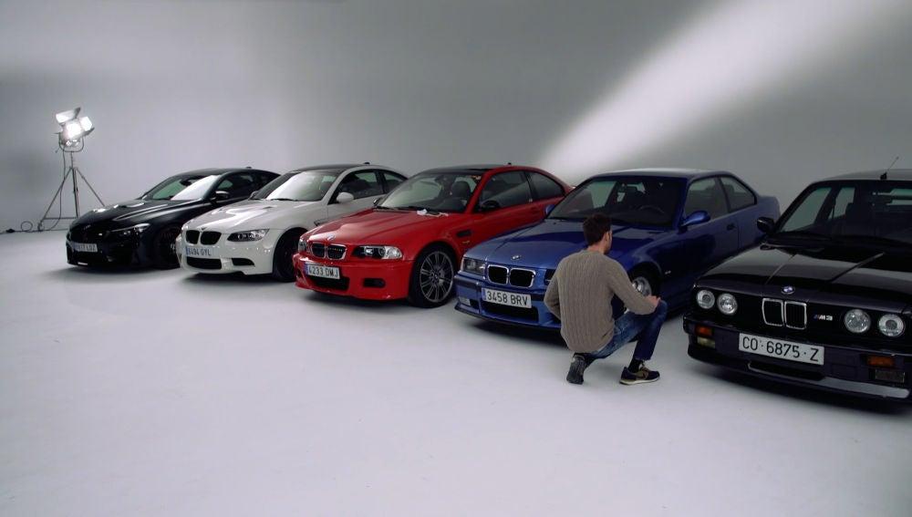 Evolución del BMW