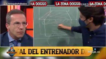 Rafa Guerrero y Juanfe Sanz explican la zona DOGSO, clave en la expulsión de Freuler contra el Madrid