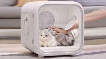 Secador inteligente para gatos de Xiaomi.