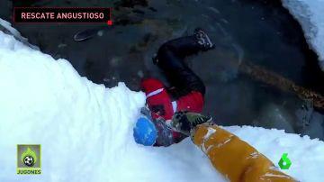 accidente esquiador ruso