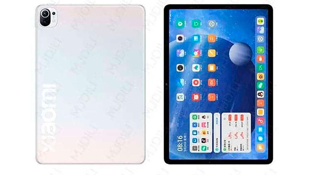 El presunto diseño de la Xiaomi Mi Pad 5