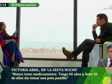 """El bulo de Victoria Abril sobre las mascarillas: """"Están llenas de dos cancerígenos"""""""
