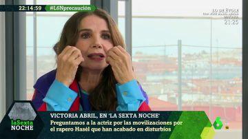 """Victoria Abril: """"No me vacuno ni loca; no se puede parar este virus ni sus variaciones porque es mutante"""""""