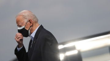 """Joe Biden califica como """"atentado"""" lo ocurrido en el Capitolio y dice estar """"desconsolado"""""""