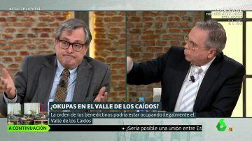 El tenso debate de Mahuenda, Tania Sánchez y Antonio Miguel Carmona sobre el franquismo