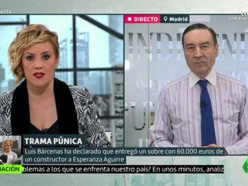 """Pedro J. Ramírez apuesta por un Govern del PSC con ERC y los comunes y la participación de Cs: """"Cataluña se les está yendo de las manos a los catalanes"""""""