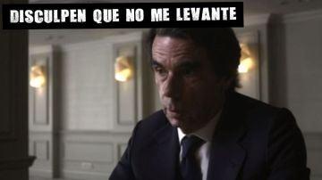 José María Aznar en Lo de Évole
