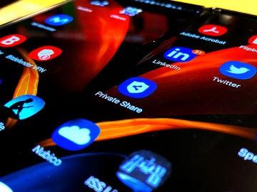 Private Share en smartphones Samsung.