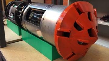 Una tuneladora inteligente para perforar suelos urbanos