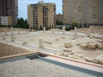 Lucentum, ciudad íbero-romana en Alicante.