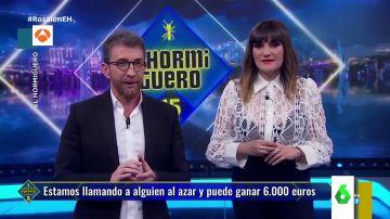 """La reacción de una joven a la llamada de Pablo Motos que sorprende a 'El Hormiguero': """"No tengo nombre, soy anónima"""""""