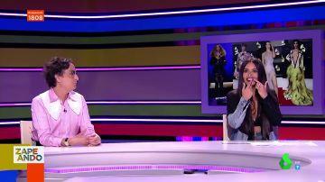 Cristina Pedroche sorprende en directo a Josie al desvelar lo que se quiere poner en los dientes
