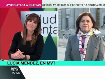 """El alegato de Mamen Mendizábal a favor de pedir ayuda psicológica: """"Todos somos vulnerables"""""""