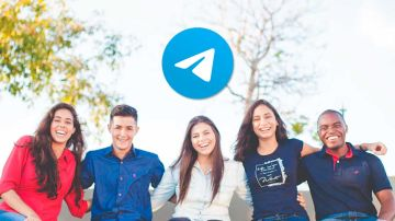 Contactos en grupos de Telegram