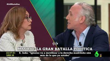 Angélica Rubio y Eduardo Inda