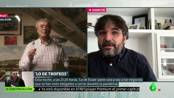 """Jordi Évole desvela por qué eligió 'Trofeos Escobar' como protagonista de su homenaje a """"todas las tiendas de barrio"""" que han cerrado por la pandemia"""