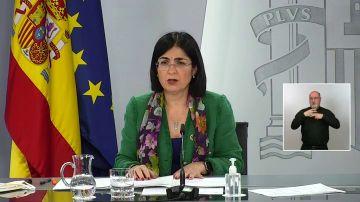 """Carolina Darias: """"Máxima preocupación; espero que no haya que adoptar medidas más restrictivas la próxima semana"""""""