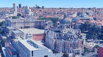 Mapa de Madrid en 3D